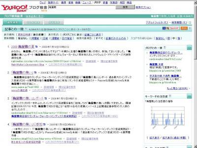 梅屋敷 ブログ検索 適合度順
