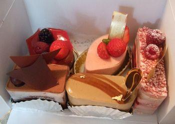 すぎののケーキ5個