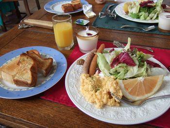 リーブル朝食