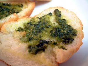 バジルペースト パン