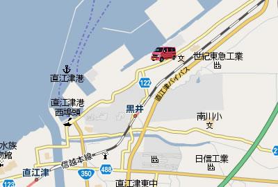 直江津港 アジ爆釣MAP