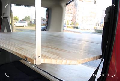 2段ベッドキットは広々120cm×120cm