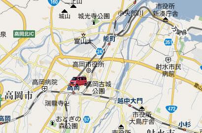 高岡大仏MAP