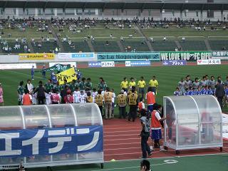 FC岐阜vsザスパ草津