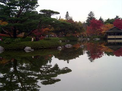 昭和記念公園紅葉15