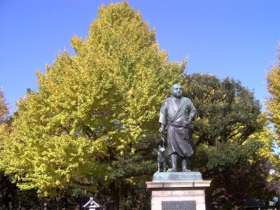 上野公園西郷隆盛