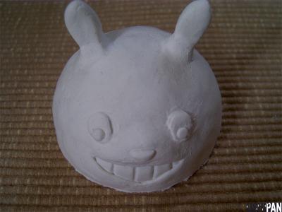 作りかけのトトロ