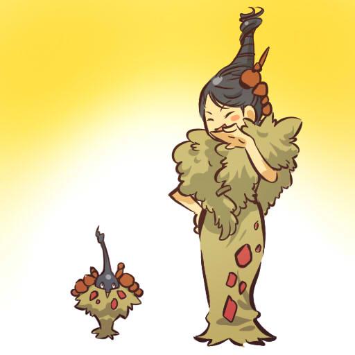 ミノマダム 枯葉