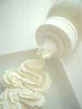 ホイップクリームが今回の味付けの主役!