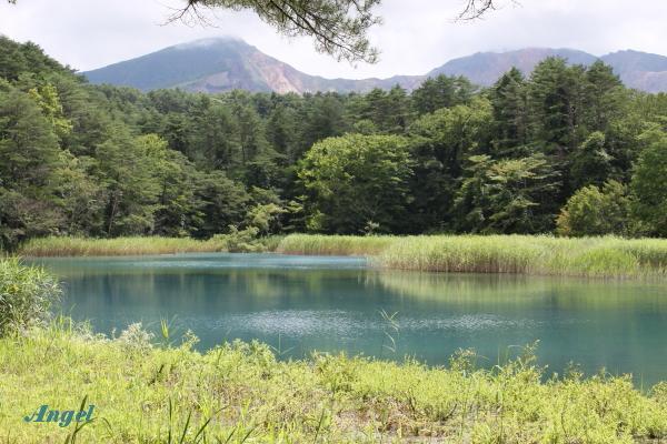 瑠璃沼と磐梯山Angel(139)