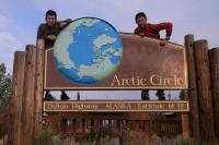 北極圏のプレートにて