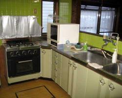 独立型のキッチン