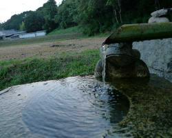 八幡神社の給水ポイント