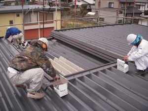 長野県松本市で塗装工事