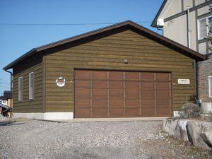 長野県のかっこいいガレージ