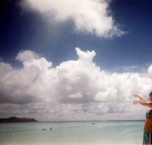 グアムビーチ