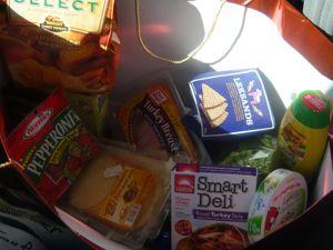 お昼車の食べ物