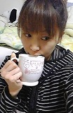 コーヒー飲む