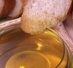 パンにオイル