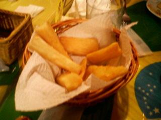 フライドキャッサバ芋