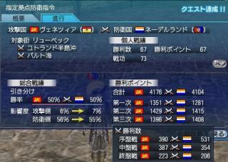 大海戦3日目戦功