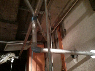 天井配管1