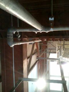 天井配管2