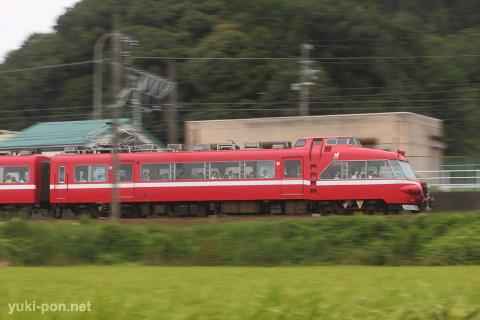 名鉄7000系@本宿~名電山中