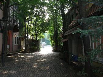 ドイツの小道