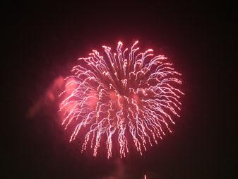 江戸川の花火1