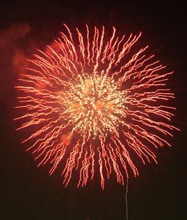 江戸川の花火3