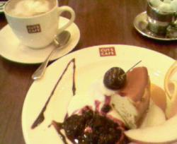 カッツカフェにて。