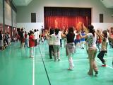 やっさ踊り練習中。