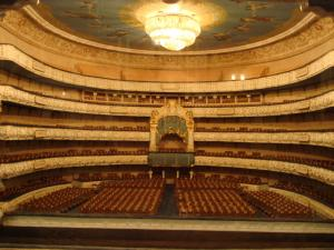 劇場の模型