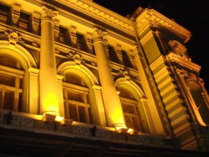 ライトアップされたマリインスキー劇場