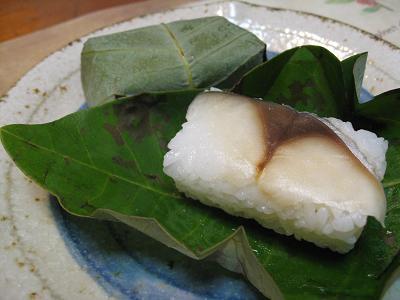 ホウの葉寿司6.22