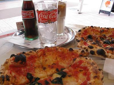 チェザリのピザ8.24