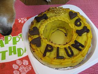 6歳のケーキ10.25
