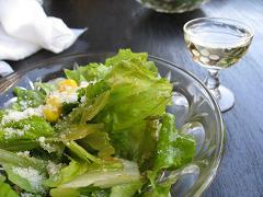 サラダとシャンパン10.19