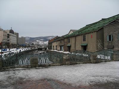小樽運河3.13