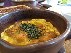 チキンカツ卵とじ4.2