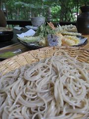 蕎麦と天ぷら。12