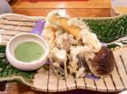 秋の天ぷら盛り合わせ