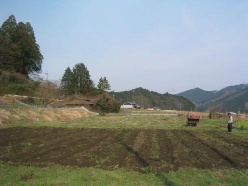 ぼちぼち畑も始まります。