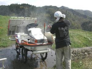 あとは 洗車。