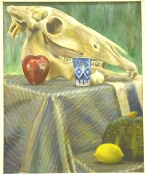 『骨のある静物』