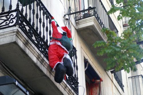 サンタ飾り1