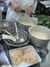 生姜飯(炊く前)